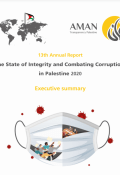 The State of Integrity and Combating Corruption in Palestine 2020