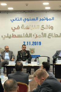 The Civil Forum to Promote Good Governance in the Security Sector launches the Integrity Index of the Security Sector in Palestine for the first time