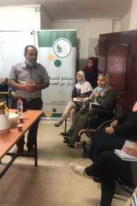 In cooperation with the Medical Relief, AMAN concludes four awareness-raising meetings with people with disabilities about corruption