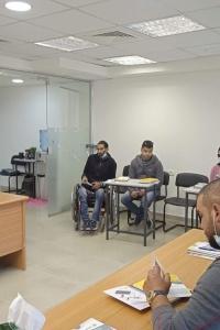 """ائتلاف أمان بالتعاون مع """"بهمتكم"""" يعقدان لقاءين توعويين مع ذوي الإعاقة حول مفاهيم النزاهة والشفافية والمساءلة ومكافحة الفساد"""