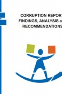 CORRUPTION REPORT: FINDINGS, ANALYSIS and  RECOMMENDATIONS