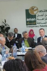 أمان تعقد جلسة استماع حول برنامج إقراض خاص بسكان مدينة القدس