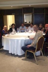في اطار دورها الاقليمي أمان تنقل خبراتها للفرع اليمني