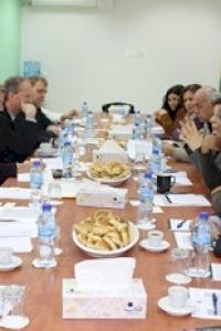 في اجتماع ائتلاف ممولي أمان د. عشراوي: أمان جهد فلسطيني وطني خالص ومسؤوليتنا بناء نظام حكم رشيد يقوم على سيادة القانون والشفافية والمساءلة الحقيقيتين