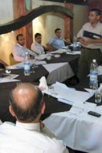 امان تعقد تدريبا خاصا لموظفي الهيئات المحلية في غزة على آليات تطبيق مدونة السلوك