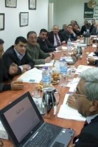 امان تنفذ لقاء توعوي حول مكافحة غسل الاموال في فلسطي