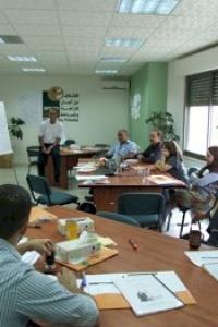 أمان تعقد دورة تدريبية في مجال المناصرة  بهدف وضع إستراتيجيات مناصرة فعالة لبناء نظام نزاهة وطني في فلسطين