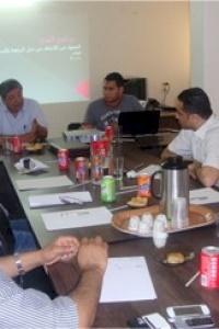 بحضور د. كمال الشرافي ورؤساء مجالس إدارة المؤسسات الشريكة  أمان تستكمل  توقيع اتفاقيات الشراكة والتعاون مع المؤسسات الاهلية الفلسطينية