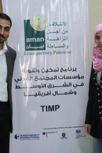 ANTICORRUPTION EFFORTS AND CIVILIAN LIFE DISRUPTED IN PALESTINE