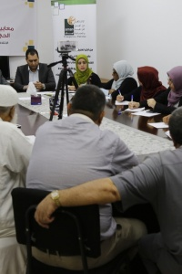 AMAN Coalition Holds a Hearing for the Foundation of the Care of Martyrs and Wounded Families in the Gaza Strip