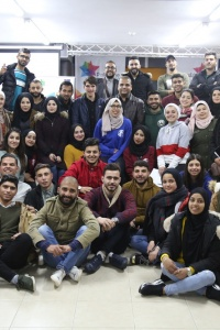 Engaging 80 young men and women in the West Bank and Gaza Strip