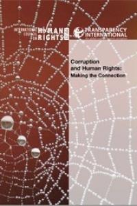 الفساد وحقوق الانسان