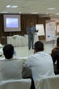بالشراكة مع أمان المركز الفلسطيني لقضايا السلام يعقد ثلاث ورش تدريبية في جنين حول دليل التدقيق الداخلي