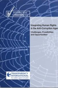 إدماج حقوق الإنسان في أجندة مكافحة الفساد