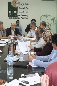 في جلسة خاصة مع ديوان الموظفين العام  أمان تناقش سبل ترشيد الانفاق في الوظفة العامة الفلسطينية