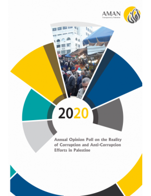 Annual Opinion Poll on the Reality & Anti-Corruption Efforts in Palestine 2020