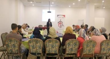 ضمن برنامج شركاء من أجل المساءلة المجتمعية مؤسسة تعاون تطور خطط عمل تشاركية مع المؤسسات القاعدية الشريكة