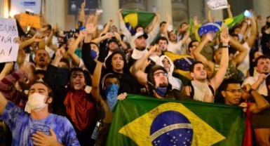 Brazilians angry over taxes, corruption take to streets