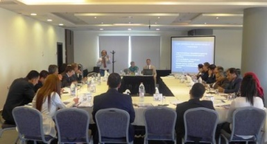 EUPOL COPPS facilitates a workshop on Asset Recovery