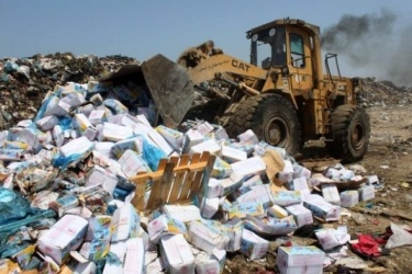 AMAN calls for taking all judicial measures to deter persons involved in smuggling hazardous electronic waste into the West Bank governorates
