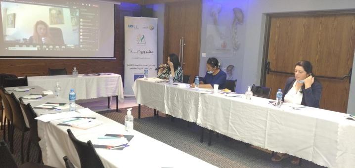 ائتلاف أمان يناقش الإطار المرجعي لشبكة (نِدّ) نساء ضد الفساد
