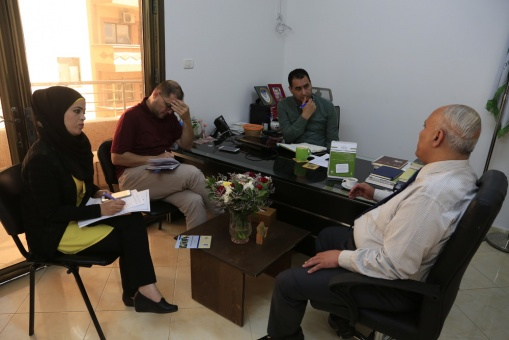 AMAN Holds a Meeting to Diagnose the Humanitarian Assistance Environment in Gaza