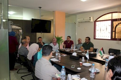 في لقاء تفاكري عقده ائتلاف أمان في غزة: تشديد على أهمية تعزيز دور الأبحاث في مكافحة الفساد من خلال دعم شفافية المعلومات