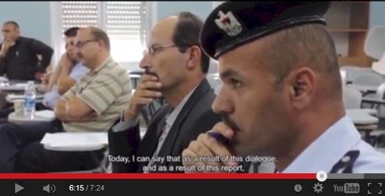 مكافحة الفساد في مؤسسات الأمن في فلسطين