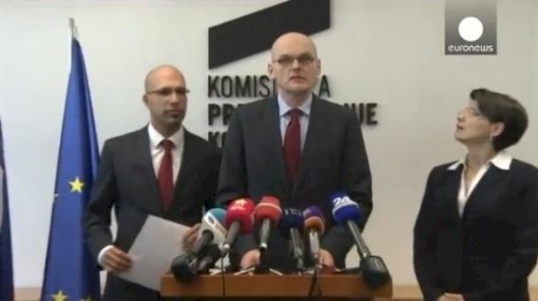 استقالة رئاسة هية مكافحة الفساد في سلوفينيا احتجاجا على عدم جدية الحكومة