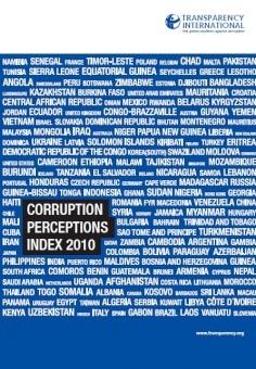 مؤشر مدركات الفساد 2010