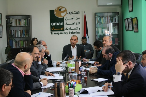 The Absence of the Monetary Authority from the Meeting Raised Questions on the extent to which it is Accountable.. AMAN Coalition and Specialists Discuss the Reality of Integrity, Transparency and Accountability in the Monetary Authority