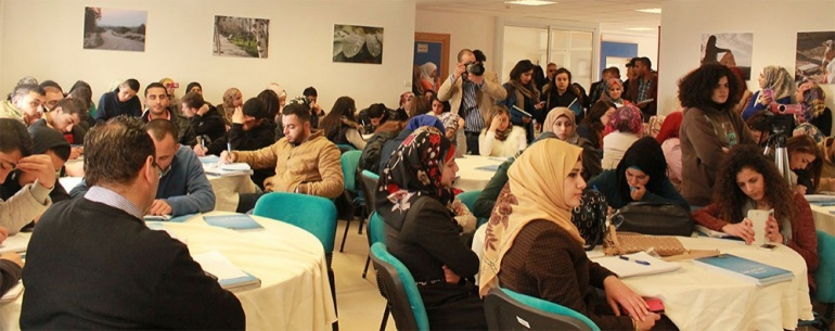 The Palestinian media sector in need to enhance its role in combatting corruption: AMAN Coalition launches the study of the national system for integrity in Birzeit University